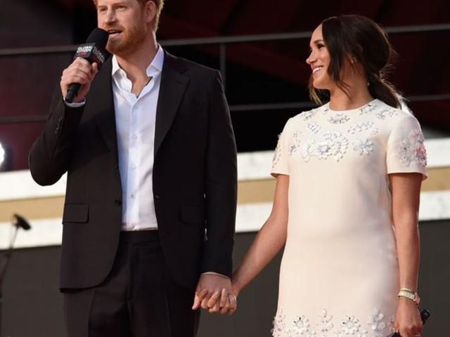 Royals: Meghan und Harry werben bei Konzert für Impfgerechtigkeit