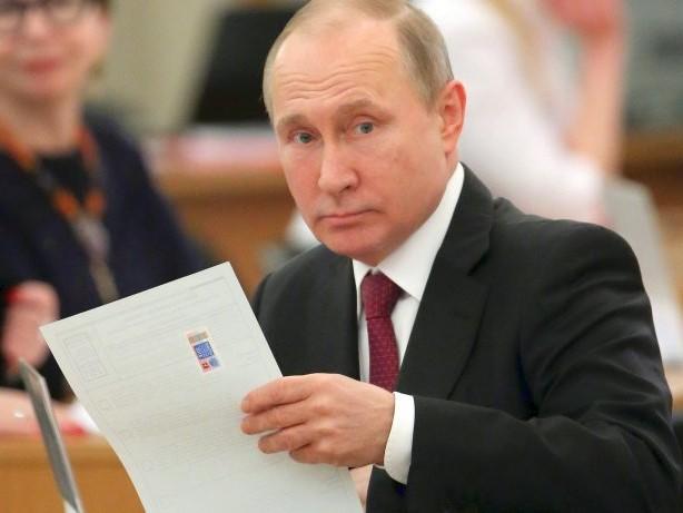 Russland-Wahl: 72 Prozent – Hochrechnung zeigt Sieg für Wladimir Putin