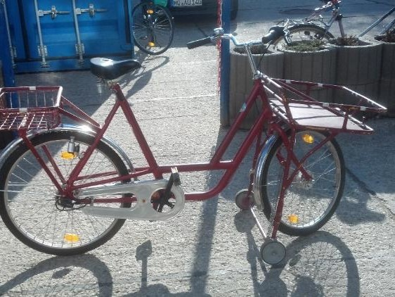 "26 "" Transportrad, Postfahrrad, Lastenfahrrad in Merseburg"