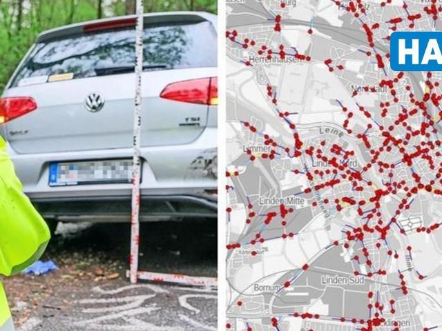Unfallatlas 2020: Das sind die zehn gefährlichsten Kreuzungen in Hannover