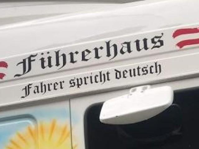 """""""Führerhaus"""": Lkw-Aufschrift musste entfernt werden"""