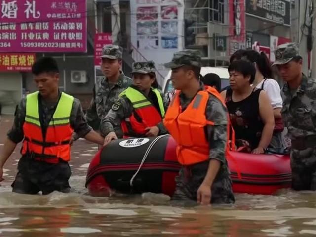 Video: China: Nothilfe nach Überschwemmungen angekündigt