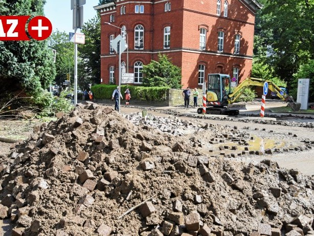 Hochwasserkatastrophe: Langenberg: Wiederaufbau nach dem Hochwasser kommt voran