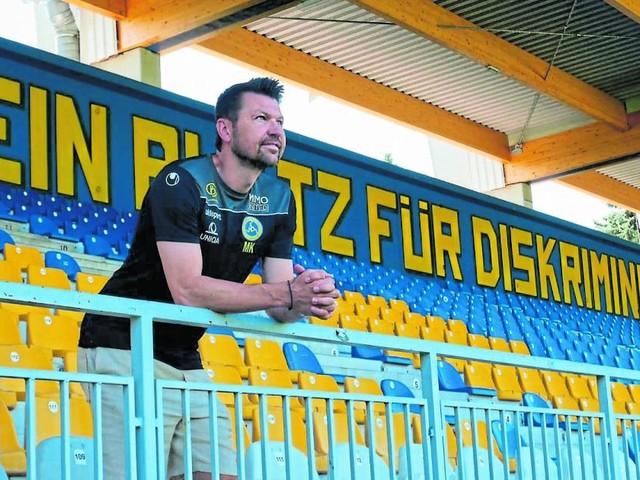 """Markus Katzer: """"Die Vienna hat etwas, was die Leute beim Fußball suchen"""""""