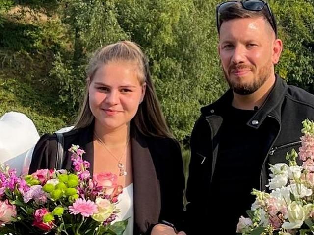 Nach Notoperation: Florian Köster macht Sylvana Wollny auf Knien einen Antrag