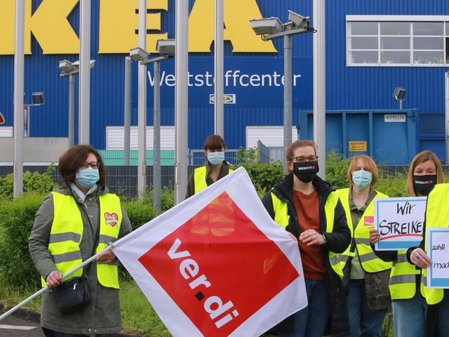 Gewerkschaft Verdi ruft zu bundesweiten Streiks bei Ikea auf