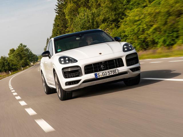Porsche Cayenne Turbo S E-Hybrid Coupé: Stromstoß für den V8-Biturbo