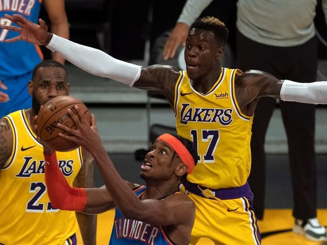 Basketball, NBA: Lakers feiern fünften Sieg in Serie
