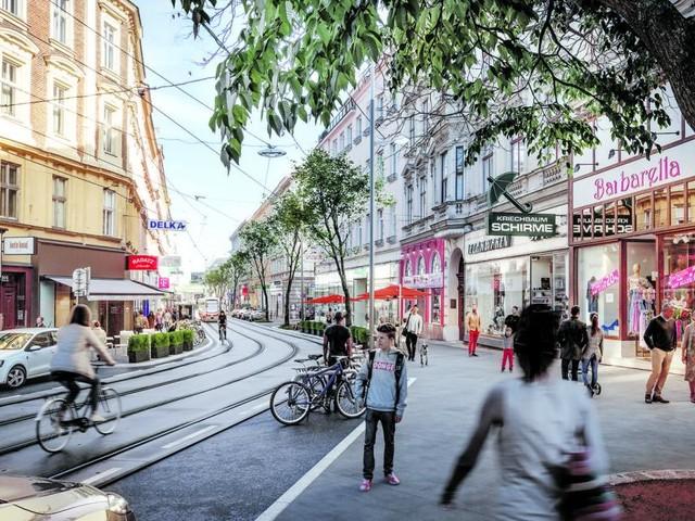 Welche Einkaufsstraßen eine Renaissance erleben