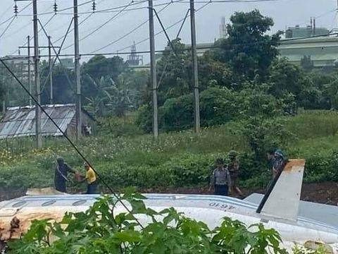 Mehrere Tote bei Absturz von Militärflugzeug in Myanmar