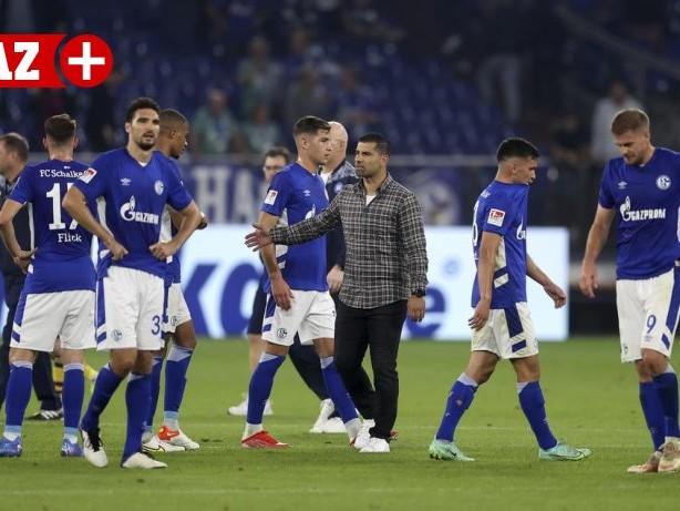 FC Schalke 04: Schalke: Das sagt Grammozis zum Platzverweis von Victor Palsson