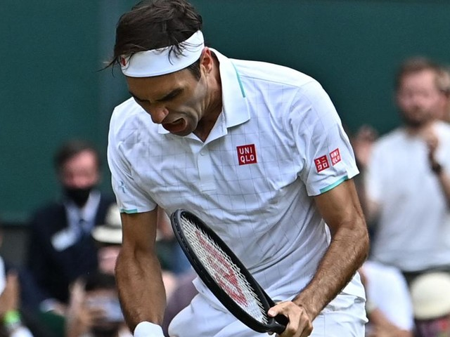 Wimbledon: Federer, Zverev und Berrettini ziehen ins Achtelfinale ein