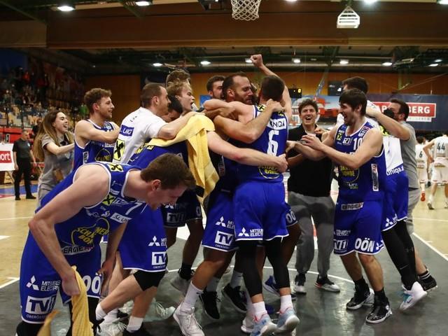 Gmunden feiert den fünften Basketball-Meistertitel