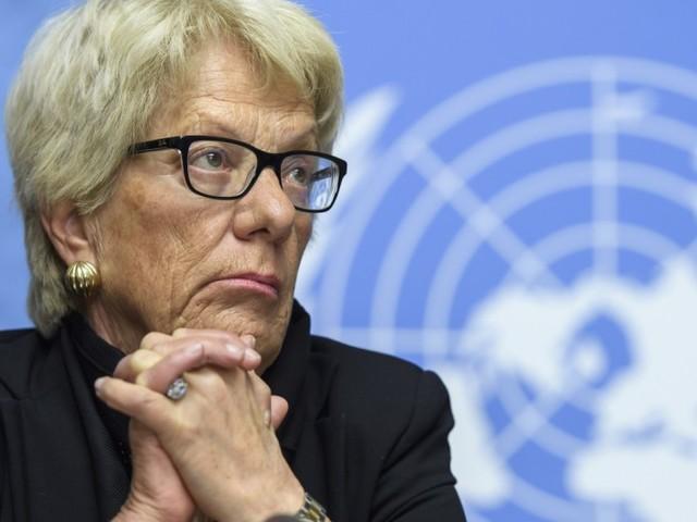 UN-Sonderermittlerin Del Ponte verlässt Syrienkommission