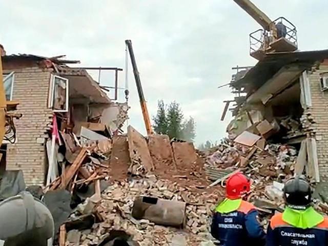 Mehrere Tote bei Gasexplosion in Wohnhaus in Russland