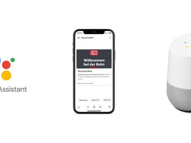 Deutsche Bahn: Google Assistant gibt Reiseauskünfte