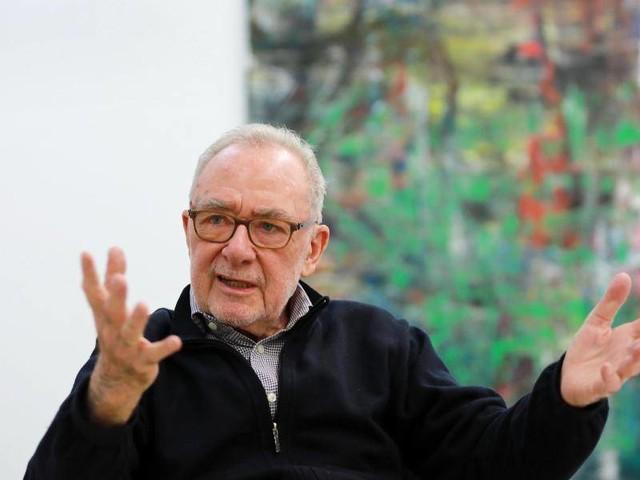 """Rückblick: Gerhard Richter malt nicht mehr: """"Irgendwann ist eben Ende"""""""