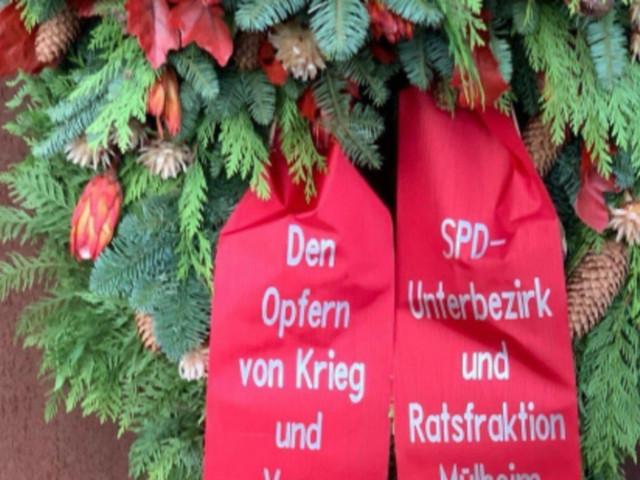 """""""Verschissmus""""-Fehler auf SPD-Trauerschleife - Partei vermutet Sabotage"""
