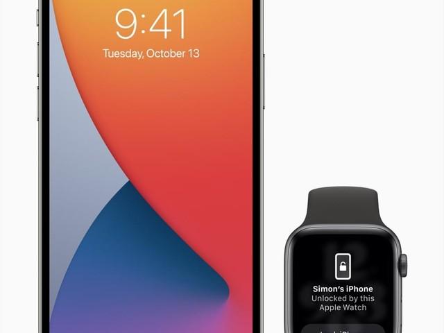 Trotz Maske: Das iPhone mit der Apple Watch entsperren