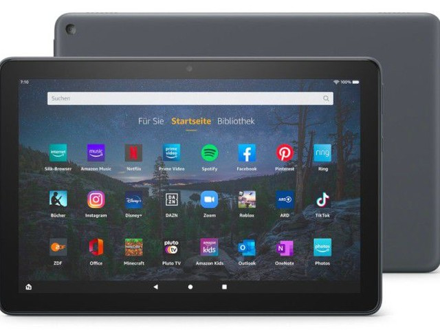 Amazon: Fire HD 10 Plus, Produktivitäts-Set, Fire Kids Pro