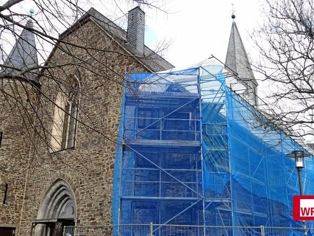 Baudenkmal: Sanierung der Siegener Martinikirche läuft Stein für Stein