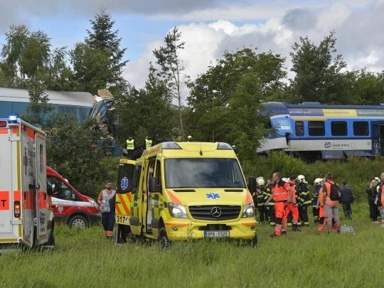 Tschechien - Tote und Verletzte bei Zugunglück