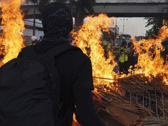 Proteste - Ausschreitungen in Hongkong