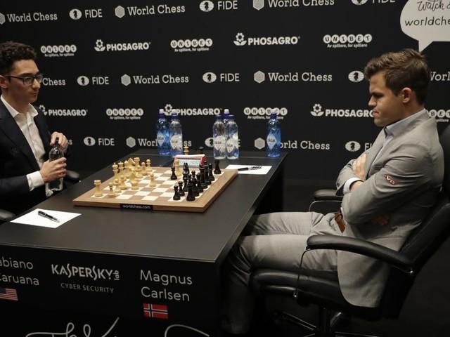 Schach-WM: Remis-Rekord lässt Carlsen und Caruana kalt