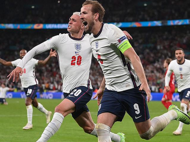 """EM 2021: """"Wussten, dass sie zusammenbrechen!"""" England mit Glück und Kane im ersten Finale seit 1966"""