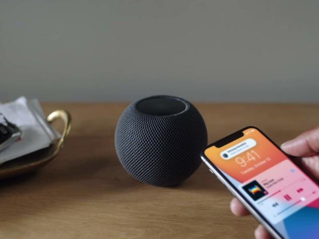 HomePod mini enthält Temperatur- und Luftfeuchtigkeitssensor