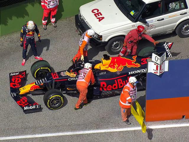 Formel 1: Imola-GP, Training Verstappen von Defekt gebremst