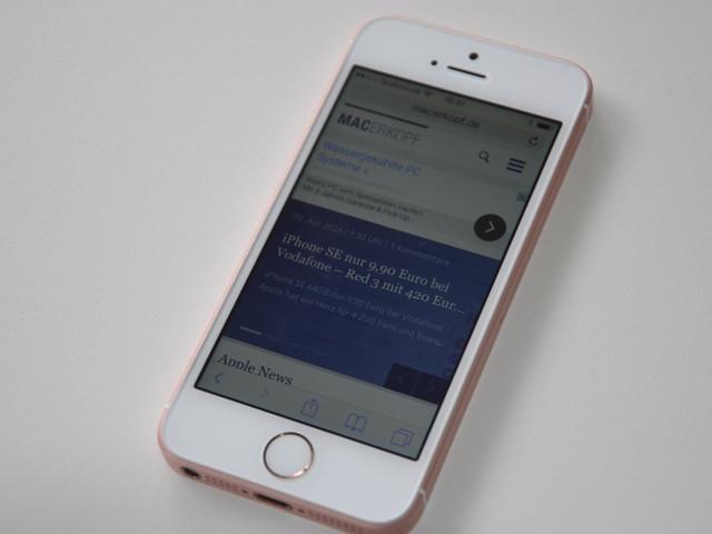 iPhone SE im Preis gesenkt – einige iPad Pro Modelle werden teurer