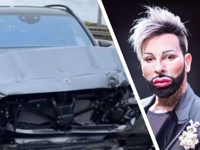 """Harald Glööckler: Designer in schweren Unfall verwickelt – """"Wir könnten tot sein"""""""
