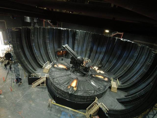 7 Sets in 7 Minuten – Der Kulissenbau von Alien: Covenant im Zeitraffer