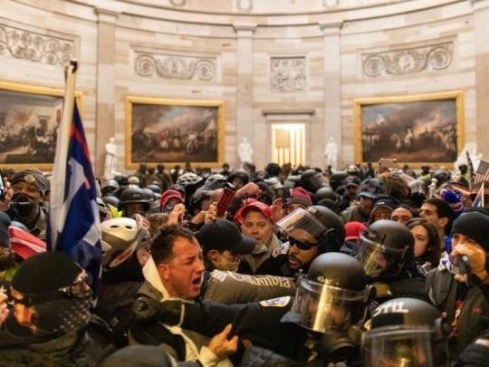 Erstürmung des Kapitols - 38-Jähriger erhält achtmonatige Haftstrafe