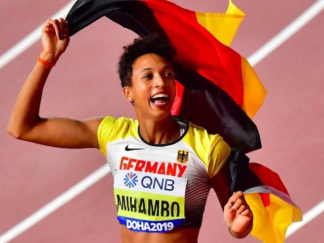 Weitspringerin Malaika Mihambo gewinnt Gold bei Leichtathletik-WM