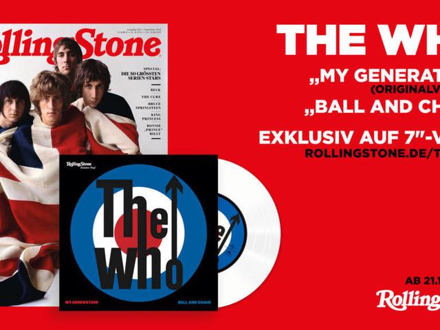 Jetzt bestellen: ROLLING STONE 12/19 mit exklusiver 7-Inch-Single von The Who