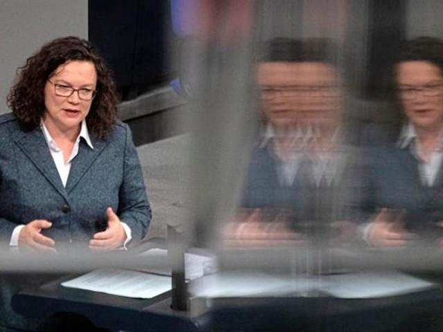 Nahles legt Bundestagsmandat nieder