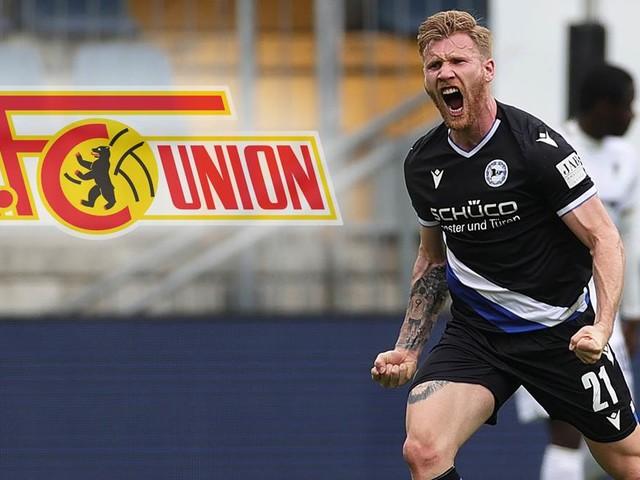Achter Neuzugang fix: Union Berlin holt Bielefeld-Stürmer Voglsammer