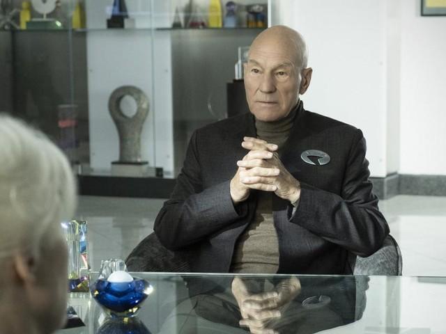"""""""Star Trek: Picard"""": Stewart sieht eine """"Welt voll düsterer Probleme"""""""