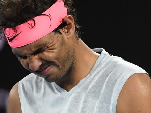 Der fitteste Tennisprofi gibt auf