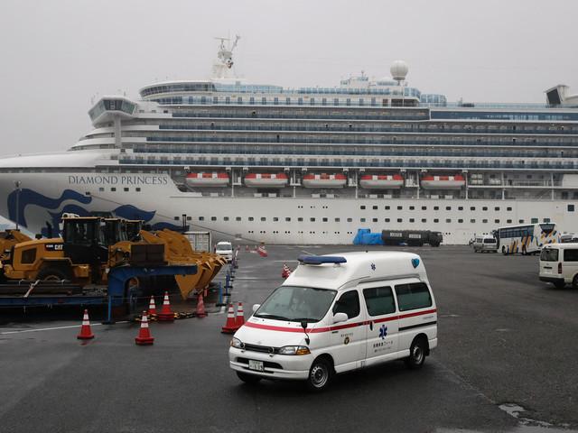 "Coronavirus: Erste Passagiere verlassen ""Diamond Princess"" nach Quarantäne"