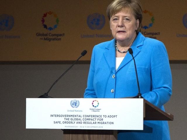 Nach Lobeshymne auf UN-Migrationspakt: Merkel macht Seitenhieb gegen die AfD