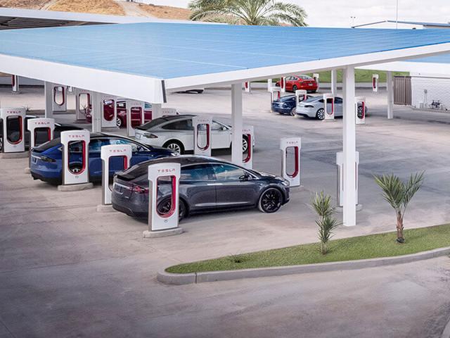 Supercharger: Tesla öffnet Ladenetzwerk für Dritte
