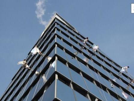 Kletter-Fans kraxeln bald auf New Yorks Wolkenkratzer
