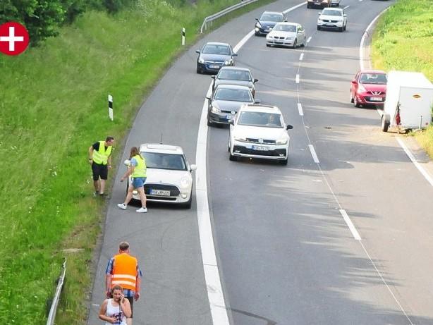 Polizei: Unfall im Berufsverkehr auf der A46 bei Olpe