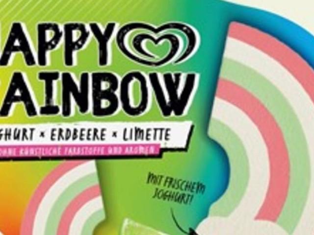 Unilever ruft Eskimo Happy Rainbow-Eis zurück