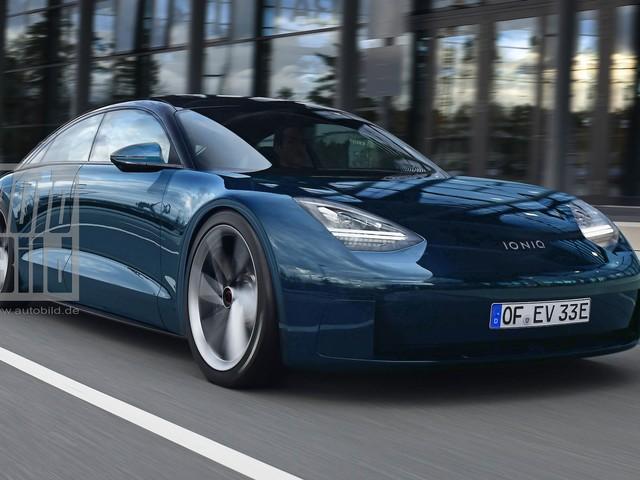 Hyundai Ioniq 6 (2022): Elektroauto, Maße, 800-Volt-Technik, Reichweite, Design, Allrad Hyundais Elektromarke Ioniq arbeitet an einer sportlichen Limousine