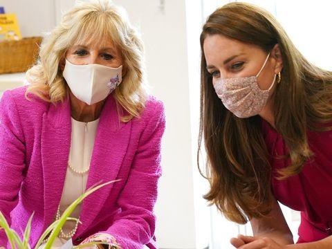 G7-Gipfel: Herzogin Kate und Jill Biden besuchen Schule