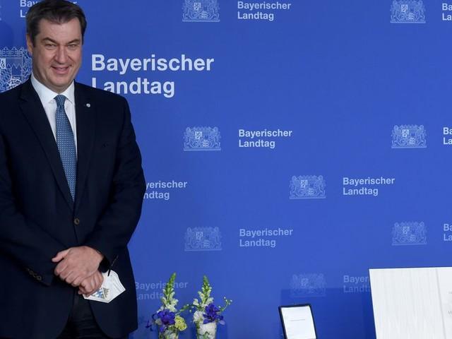 """""""Vorbild an Einsatz"""": Söder bekommt Bayerische Verfassungsmedaille"""